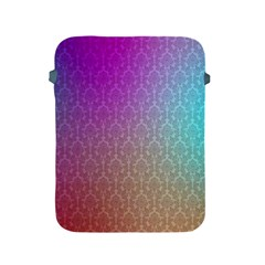 Blue And Pink Colors On A Pattern Apple Ipad 2/3/4 Protective Soft Cases