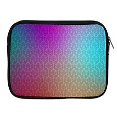 Blue And Pink Colors On A Pattern Apple iPad 2/3/4 Zipper Cases