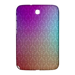 Blue And Pink Colors On A Pattern Samsung Galaxy Note 8 0 N5100 Hardshell Case