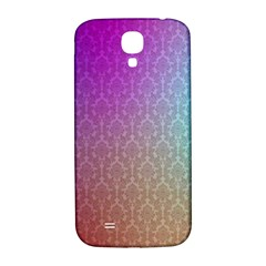 Blue And Pink Colors On A Pattern Samsung Galaxy S4 I9500/i9505  Hardshell Back Case
