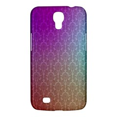 Blue And Pink Colors On A Pattern Samsung Galaxy Mega 6 3  I9200 Hardshell Case