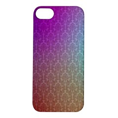 Blue And Pink Colors On A Pattern Apple Iphone 5s/ Se Hardshell Case