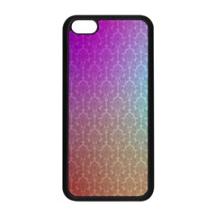 Blue And Pink Colors On A Pattern Apple Iphone 5c Seamless Case (black)