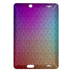 Blue And Pink Colors On A Pattern Amazon Kindle Fire Hd (2013) Hardshell Case