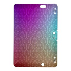 Blue And Pink Colors On A Pattern Kindle Fire Hdx 8 9  Hardshell Case
