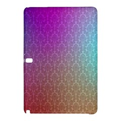 Blue And Pink Colors On A Pattern Samsung Galaxy Tab Pro 12 2 Hardshell Case