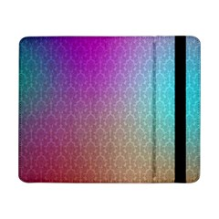 Blue And Pink Colors On A Pattern Samsung Galaxy Tab Pro 8 4  Flip Case