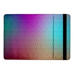 Blue And Pink Colors On A Pattern Samsung Galaxy Tab Pro 10 1  Flip Case