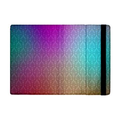 Blue And Pink Colors On A Pattern Ipad Mini 2 Flip Cases