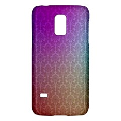 Blue And Pink Colors On A Pattern Galaxy S5 Mini