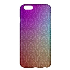 Blue And Pink Colors On A Pattern Apple Iphone 6 Plus/6s Plus Hardshell Case