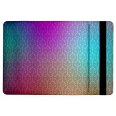 Blue And Pink Colors On A Pattern Ipad Air 2 Flip
