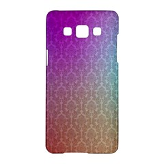 Blue And Pink Colors On A Pattern Samsung Galaxy A5 Hardshell Case