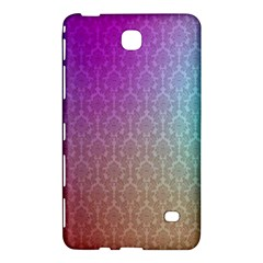 Blue And Pink Colors On A Pattern Samsung Galaxy Tab 4 (8 ) Hardshell Case