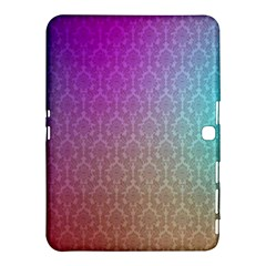 Blue And Pink Colors On A Pattern Samsung Galaxy Tab 4 (10 1 ) Hardshell Case