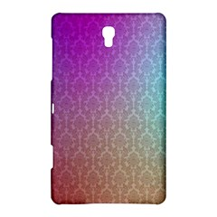 Blue And Pink Colors On A Pattern Samsung Galaxy Tab S (8 4 ) Hardshell Case