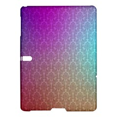 Blue And Pink Colors On A Pattern Samsung Galaxy Tab S (10 5 ) Hardshell Case