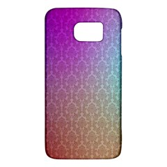 Blue And Pink Colors On A Pattern Galaxy S6