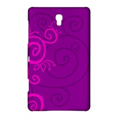 Floraly Swirlish Purple Color Samsung Galaxy Tab S (8 4 ) Hardshell Case