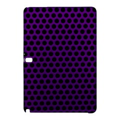 Dark Purple Metal Mesh With Round Holes Texture Samsung Galaxy Tab Pro 10 1 Hardshell Case