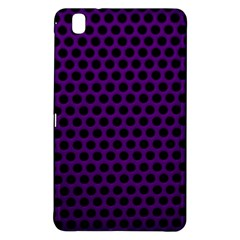 Dark Purple Metal Mesh With Round Holes Texture Samsung Galaxy Tab Pro 8 4 Hardshell Case