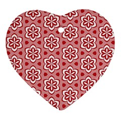 Floral Abstract Pattern Ornament (heart)