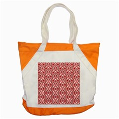 Floral Abstract Pattern Accent Tote Bag