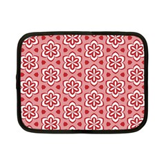 Floral Abstract Pattern Netbook Case (small)