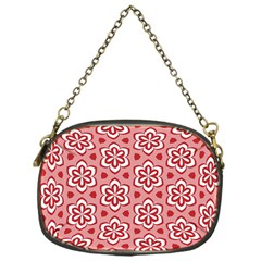 Floral Abstract Pattern Chain Purses (one Side)