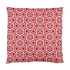 Floral Abstract Pattern Standard Cushion Case (one Side)