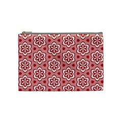 Floral Abstract Pattern Cosmetic Bag (Medium)