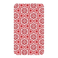 Floral Abstract Pattern Memory Card Reader