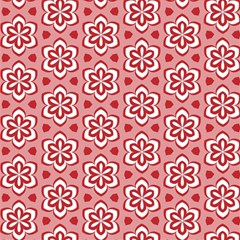 Floral Abstract Pattern Magic Photo Cubes