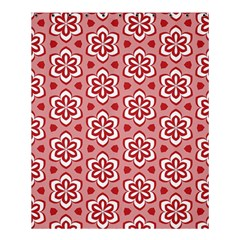Floral Abstract Pattern Shower Curtain 60  X 72  (medium)