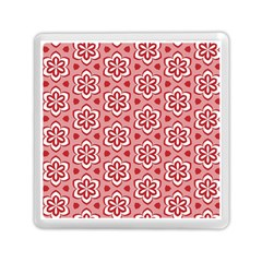 Floral Abstract Pattern Memory Card Reader (square)