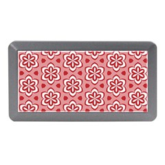 Floral Abstract Pattern Memory Card Reader (Mini)