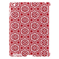 Floral Abstract Pattern Apple Ipad 3/4 Hardshell Case (compatible With Smart Cover)