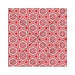 Floral Abstract Pattern Acrylic Tangram Puzzle (6  X 6 )