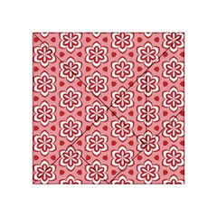 Floral Abstract Pattern Acrylic Tangram Puzzle (4  X 4 )