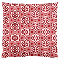 Floral Abstract Pattern Large Cushion Case (two Sides)