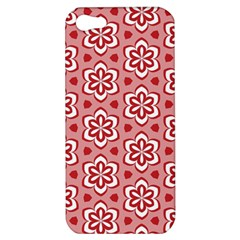Floral Abstract Pattern Apple Iphone 5 Hardshell Case