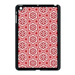 Floral Abstract Pattern Apple Ipad Mini Case (black)