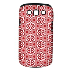 Floral Abstract Pattern Samsung Galaxy S Iii Classic Hardshell Case (pc+silicone)