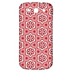 Floral Abstract Pattern Samsung Galaxy S3 S Iii Classic Hardshell Back Case