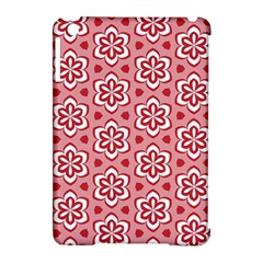 Floral Abstract Pattern Apple Ipad Mini Hardshell Case (compatible With Smart Cover)