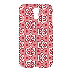 Floral Abstract Pattern Samsung Galaxy S4 I9500/i9505 Hardshell Case