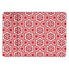 Floral Abstract Pattern Samsung Galaxy Tab 10 1  P7500 Flip Case