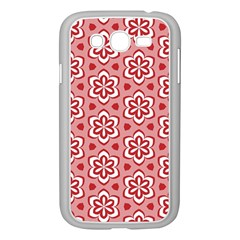 Floral Abstract Pattern Samsung Galaxy Grand Duos I9082 Case (white)