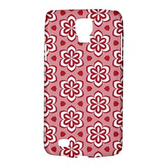 Floral Abstract Pattern Galaxy S4 Active