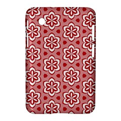 Floral Abstract Pattern Samsung Galaxy Tab 2 (7 ) P3100 Hardshell Case